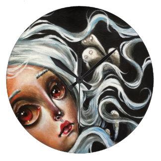 Reloj de pared del surrealismo del estallido del