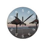 reloj de pared del tema de la playa de las 5