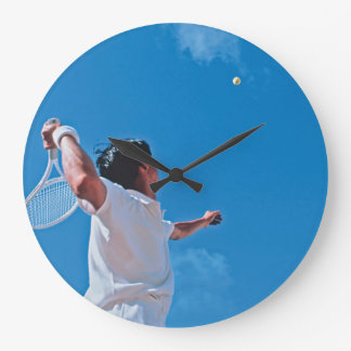 Reloj de pared del tenis