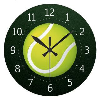 Reloj de pared del tenis el |