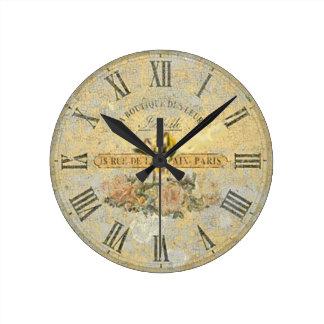 Reloj de pared del vintage