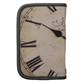 Reloj de pared del vintage planificador