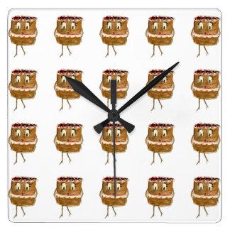 Reloj de pared divertido del arte de la novedad de