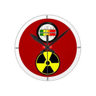 Reloj de pared divertido del efecto del contador d