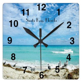 Reloj de pared dominante de la Florida de la siest