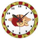 Reloj de pared dulce de la invitación de la empana