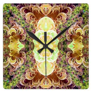 Reloj de pared enrollado de la variación 2 de la