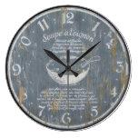 Reloj de pared francés del vintage