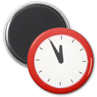 Reloj de pared imán redondo 5 cm