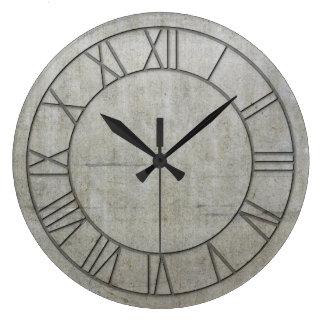 Reloj de pared industrial