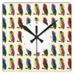 Reloj de pared lindo colorido de los niños de los