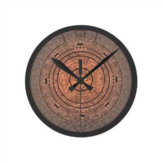 Reloj de pared maya del calendario