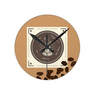 Reloj de pared (medio) redondo