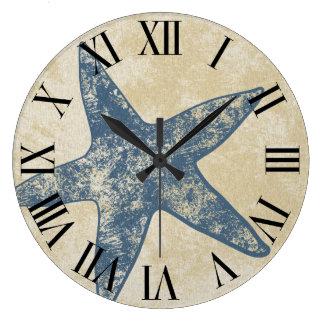 Reloj de pared moderno - reloj de las estrellas de