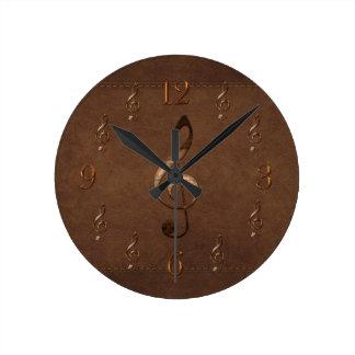 Reloj de pared Música-temático de la imitación de