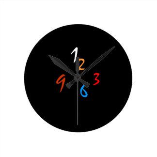 Reloj de pared original llano del >Minimalist de l