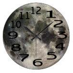 Reloj de pared personalizado de la Luna Llena