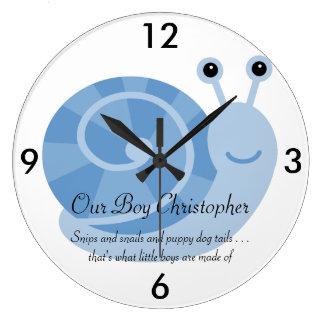 Reloj de pared personalizado de SammySnail