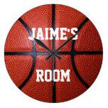 Reloj de pared personalizado del baloncesto