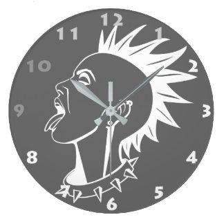 Reloj de pared PUNKY (de los NÚMEROS GRISES Y