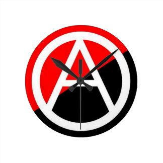 reloj de pared redondo del círculo-uno