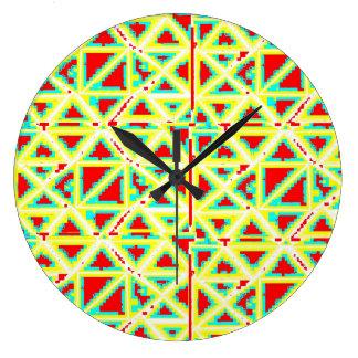 Reloj de pared redondo grande de encargo cerca: da