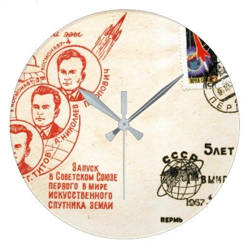 Reloj de pared RETRO de los años 60 de la ERA ESPA