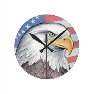 "Reloj de Paul McGehee ""Eagle calvo americano"""