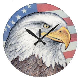 """Reloj de Paul McGehee """"Eagle calvo americano"""" (gra"""