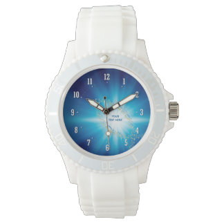 Reloj de Personalizable con símbolos cristianos de