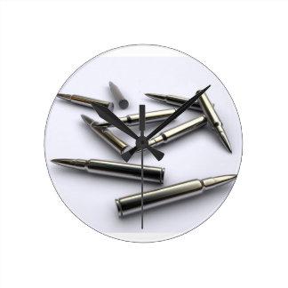 Reloj de plata de la bala