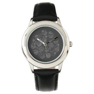 Reloj de pulsera con Cupcake blanca modelo