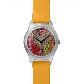 Reloj de punto del collage