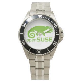 reloj de Qaurtz del logotipo de Linux del