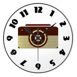 Reloj de radio antiguo