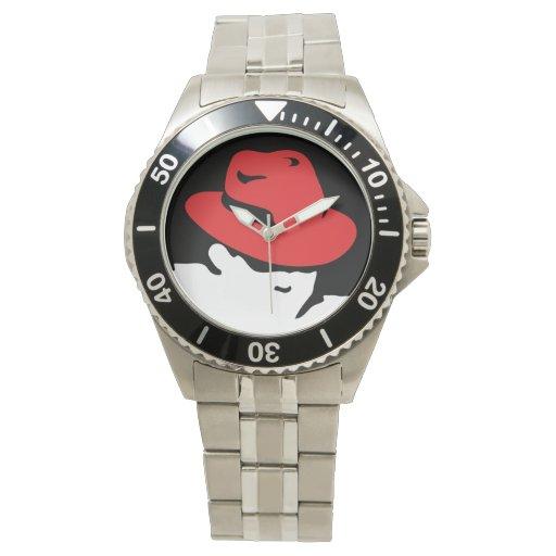 Reloj de Red Hat Linux