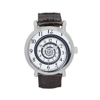 Reloj de reloj espiral de Droste