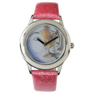 Reloj de señora Tiger Custom Glitter Strap