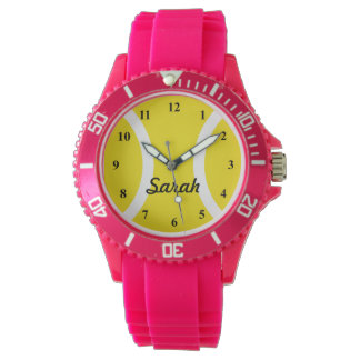 Reloj de señoras deportivo con la impresión de la