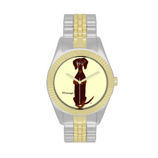 Reloj de Sidney del Dachshund