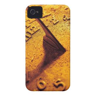 Reloj de sol de oro carcasa para iPhone 4