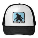 Reloj de Squatch - cazador de Sasquatch Bigfoot Gorra