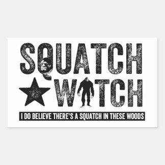 Reloj de Squatch - creo Rectangular Altavoz