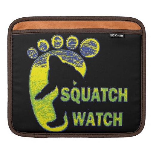 Reloj de Squatch Funda Para iPads