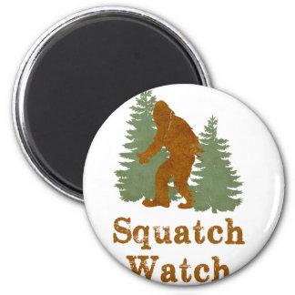 Reloj de Squatch Imán Redondo 5 Cm