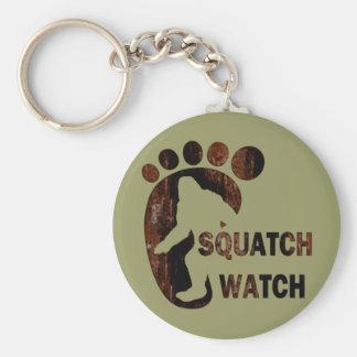 Reloj de Squatch Llaveros
