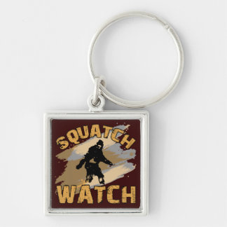 Reloj de Squatch Llavero
