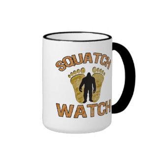 Reloj de Squatch Taza De Café