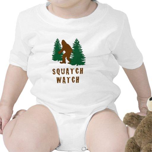 Reloj de Squatch Traje De Bebé
