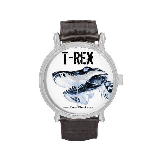 Reloj de T-Rex de la cabaña fósil